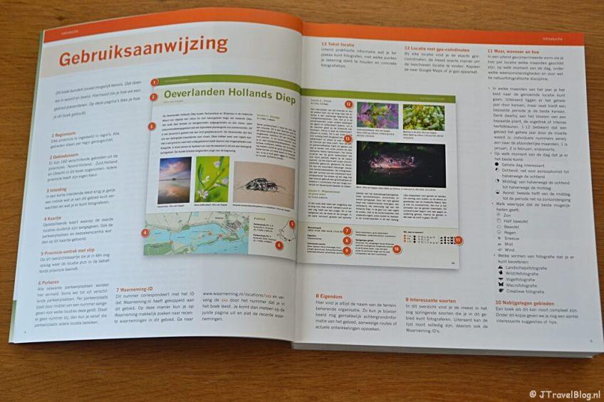 De gebruiksaanwijzing van het boek 'De mooiste fotolocaties van West-Nederland'