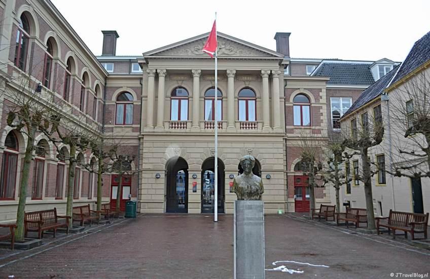 Het Harmoniegebouw in Groningen