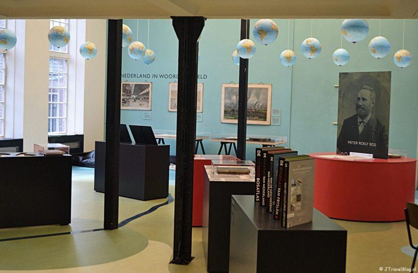 De tentoonstelling 'De Bosatlas, de kunst van het weglaten' in het GRID Grafisch Museum in Groningen