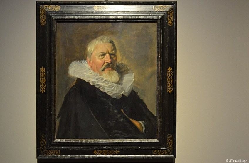 Portret van Pieter Jacobsz Olycan van Frans Hals uit 1630 in het Frans Hals Museum in Haarlem