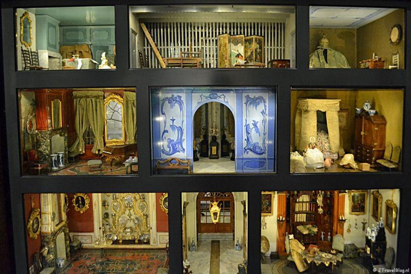 Het poppenhuis van Sara Rothé in het Frans Hals Museum in Haarlem