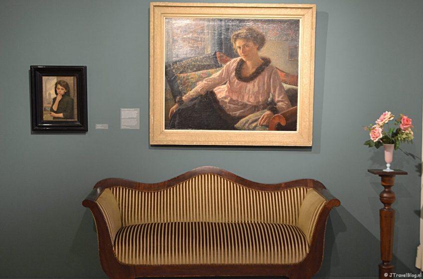De tentoonstelling van Simon de Heer in Museum Haarlem in december 2018.