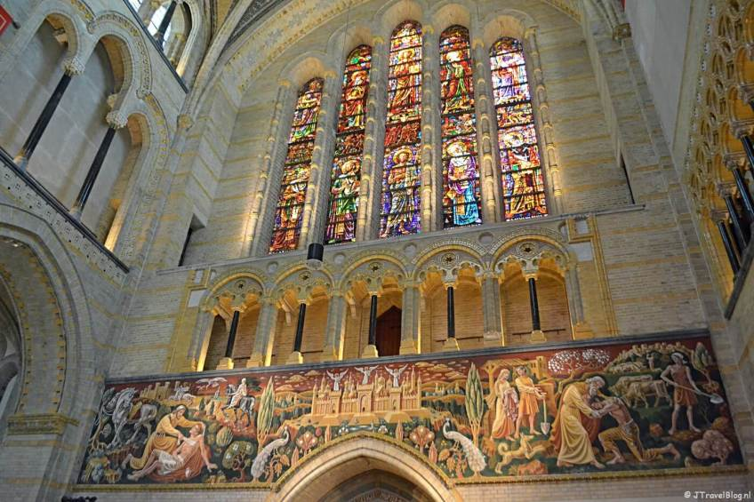 De binnenkant van de KoepelKathedraal in Haarlem