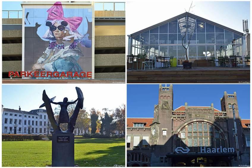 Uitje naar Haarlem in het kader van mijn therapie met Parkeergarage De Kamp, Dedakkas, Kenaupark en het Station