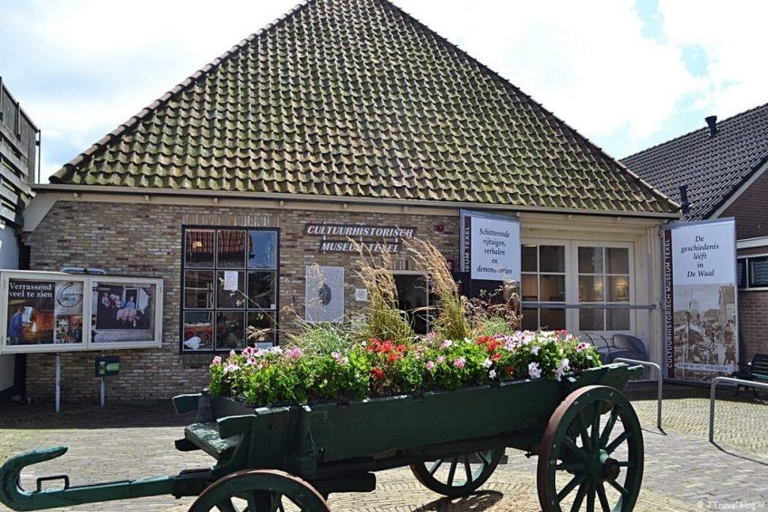 Het Cultuurhistorisch Museum Texel in De Waal op Texel