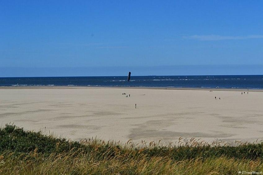 Het strand in De Cocksdorp op Texel
