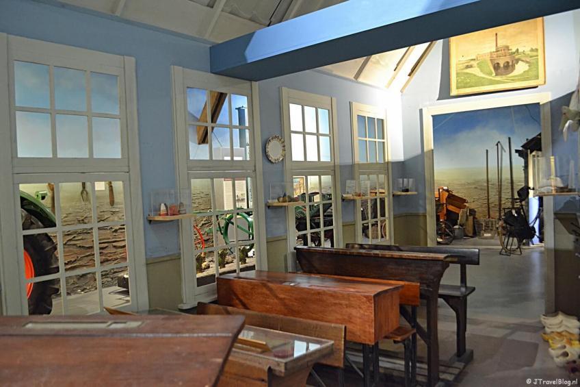 School in de Haarlemmermeer in het Historisch Museum Haarlemmermeer in Hoofddorp