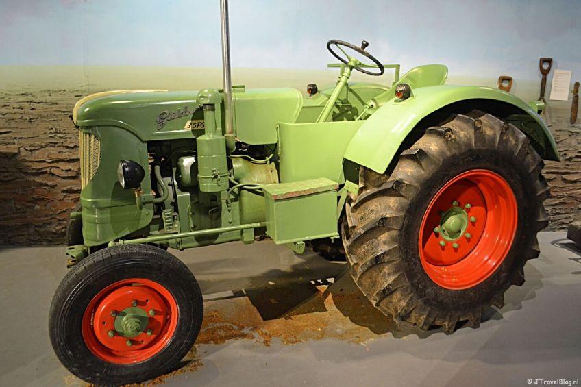 De landbouw in de Haarlemmermeer in het Historisch Museum Haarlemmermeer in Hoofddorp