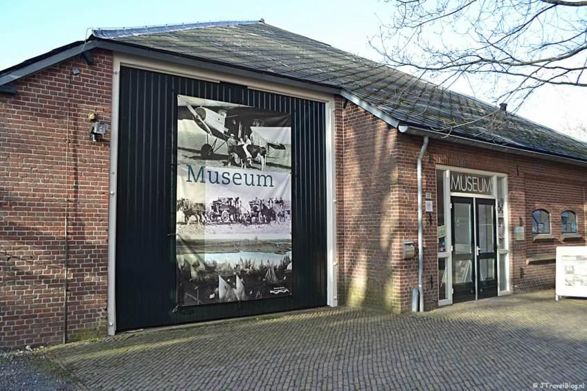 De buitenkant van het Historisch Museum Haarlemmermeer in Hoofddorp