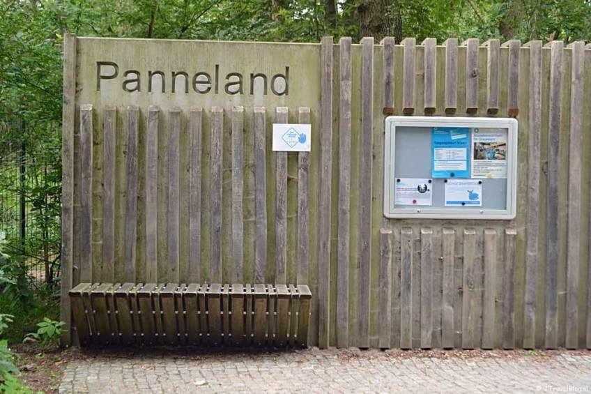 Ingang Panneland in de Amsterdamse Waterleidingduinen