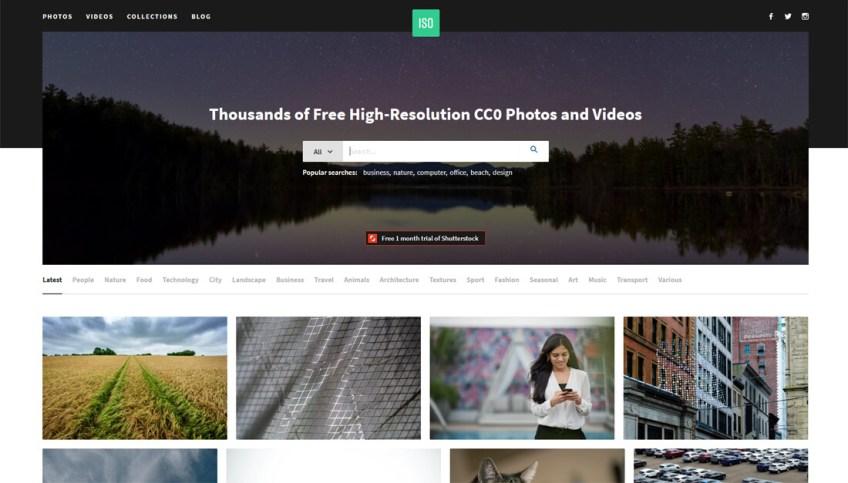 IsoRepublic: een website met gratis afbeeldingen