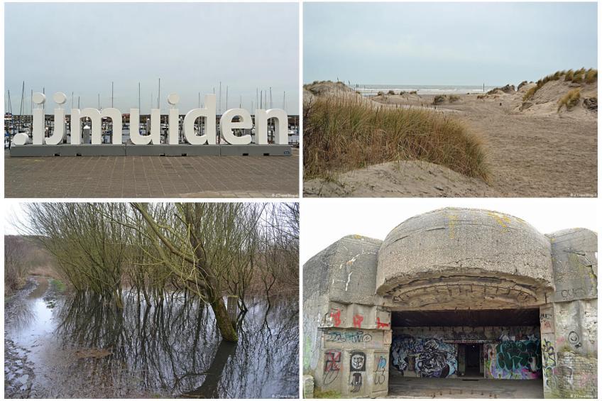 Foto's van mijn wandeling in de duinen van IJmuiden in februari 2020