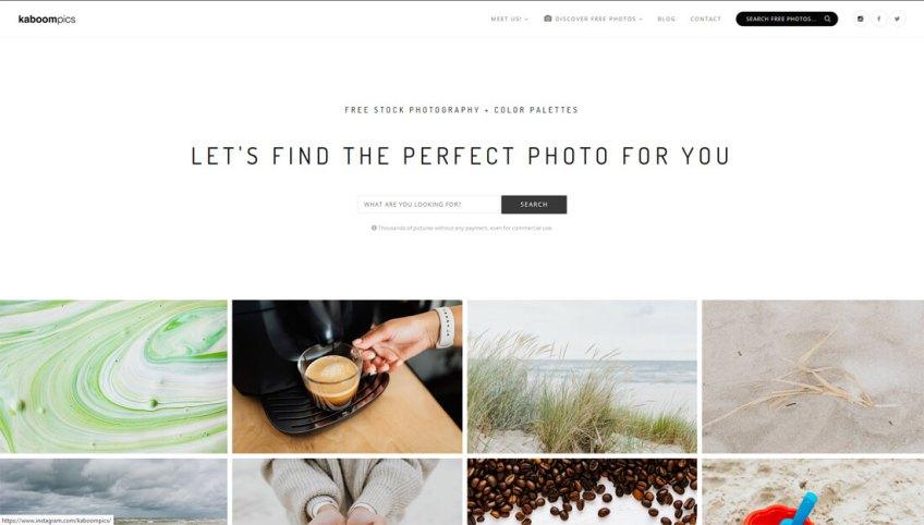 Kaboompics: een website met gratis afbeeldingen