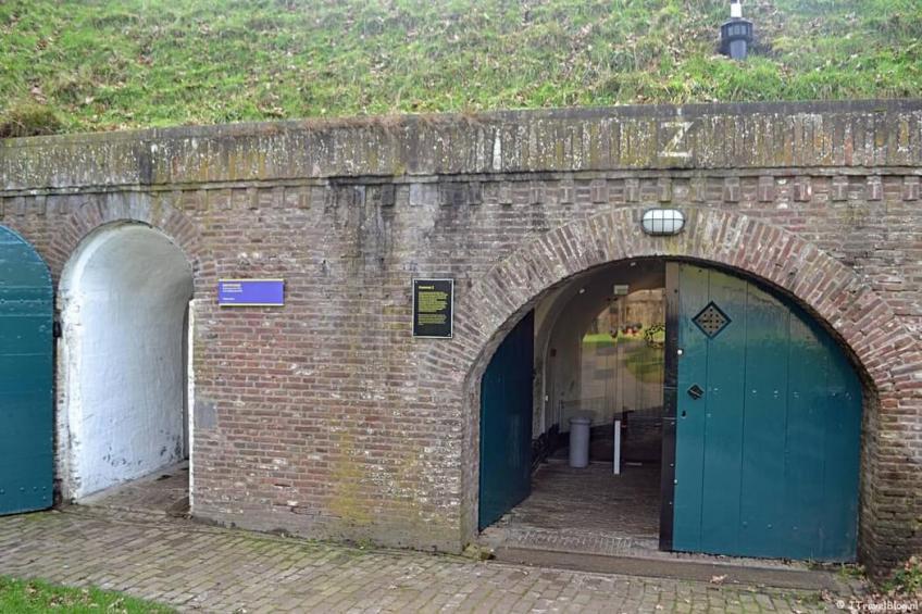Kazemat Z in het Nederlands Vestingmuseum in Naarden