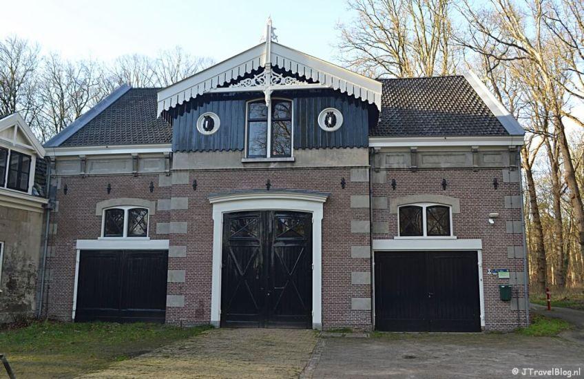 Het koetshuis op Buitenplaats Leyduin in Vogelenzang