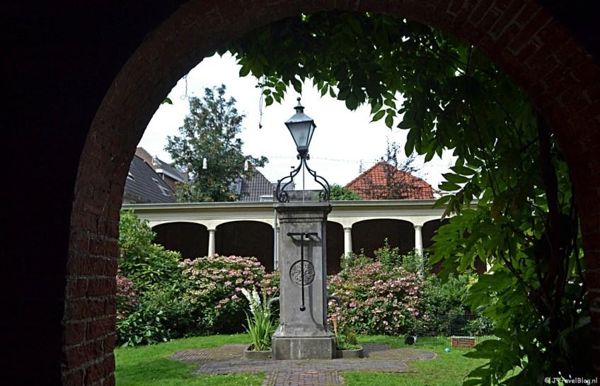Het Pieter Loridanshofje in Leiden