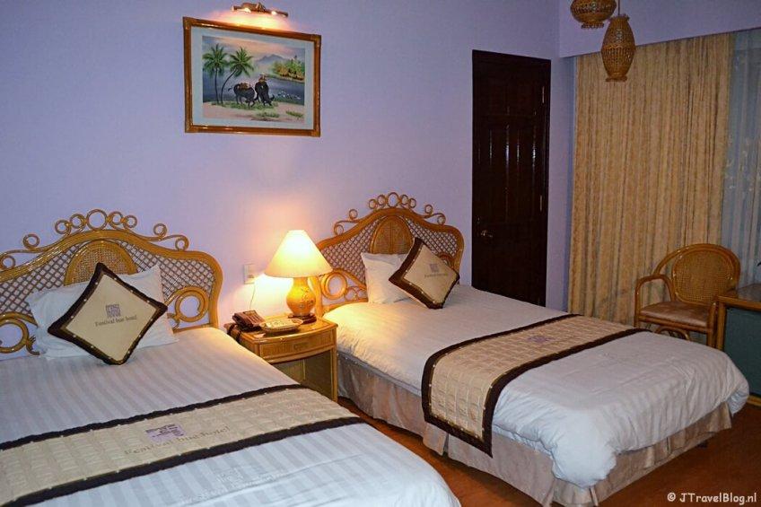 Mijn kamer in het Festival Hotel in Hué