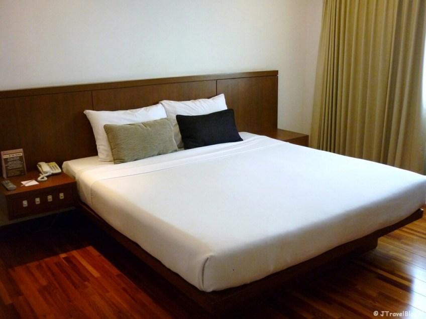 Mijn kamer in het Narai Hotel in Bangkok