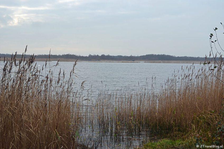 Het Naardermeer tijdens de 4e etappe van het Westerborkpad