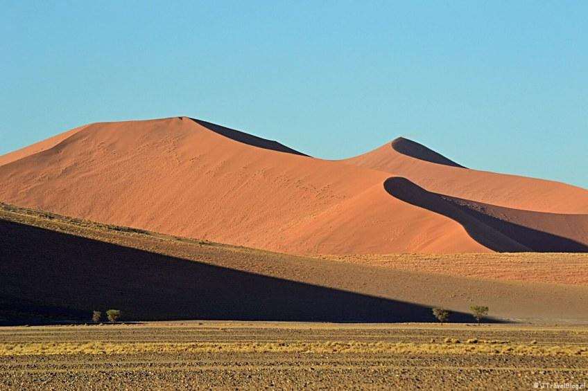 De Namibwoestijn in Namibië op de Werelderfgoedlijst van UNESCO