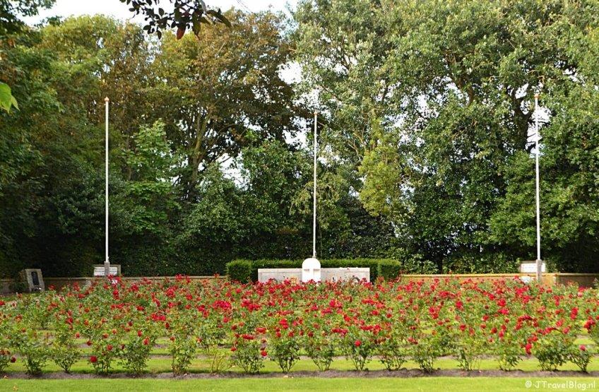 De Georgische begraafplaats in natuurgebied Hoge Berg op Texel