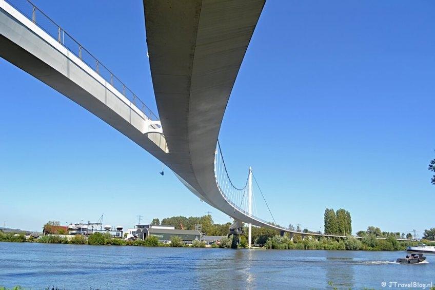 De Nesciobrug tijdens de 1e etappe van het Westerborkpad