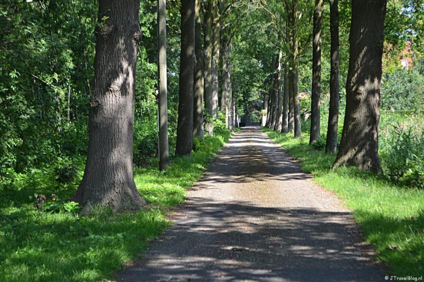 De Hemmelerweg net buiten Nijkerk
