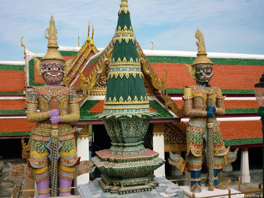 De Wat Phra Kaeo in Bangkok/Thailand