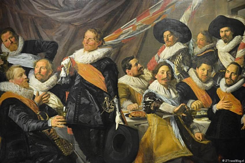 Een schutterstuk van Frans Hals in het Frans Hals Museum in Haarlem