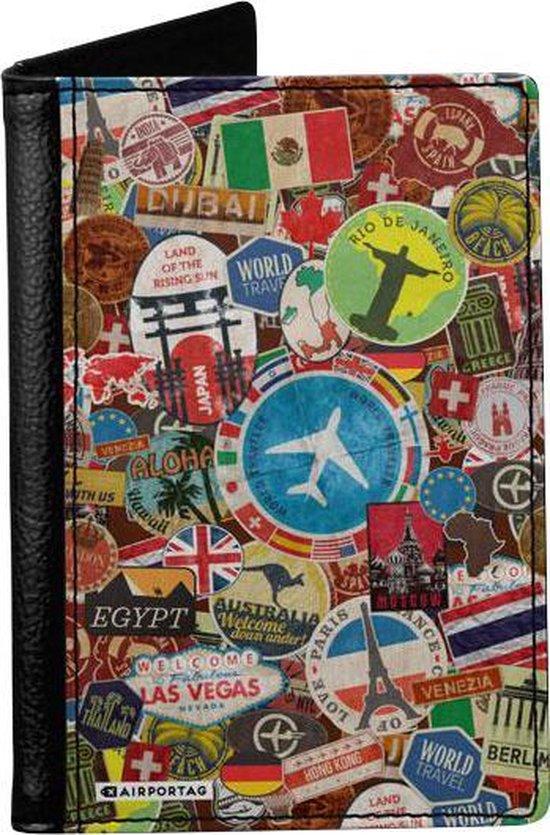 Een paspoorthoes, een vaderdagcadeau voor reislustige vaders