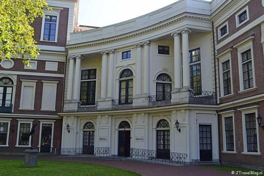 Paviljoen Welgelegen tijdens de Vrijheidswandeling in Haarlem