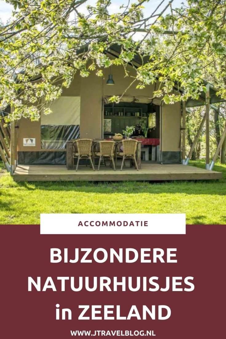 Ik heb een aantal bijzondere natuurhuisjes in de provincie Zeeland voor je op een rijtje gezet. Het zijn stuk voor stuk unieke accommodaties, veelal gelegen in de natuur. #natuurhuisjes #zeeland #accommodatie #jtravel #jtravelblog