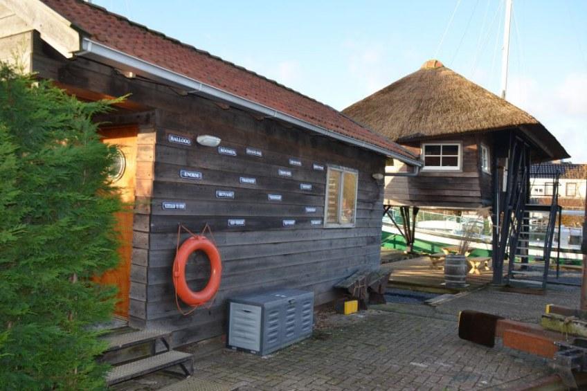 Scheepslift in Schoorl/Noord-Holland