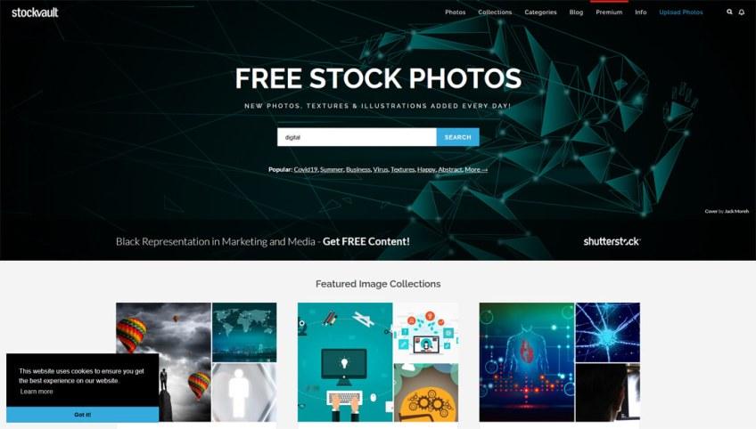 Stockvault: een website met gratis afbeeldingen