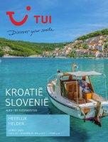 Gratis de Kroatië / Slovenië reisgids bestellen bij TUI