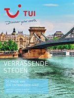 Gratis de Verrassende steden reisgids bestellen bij TUI