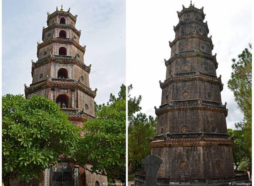 De Thien Mu Pagode in Hué