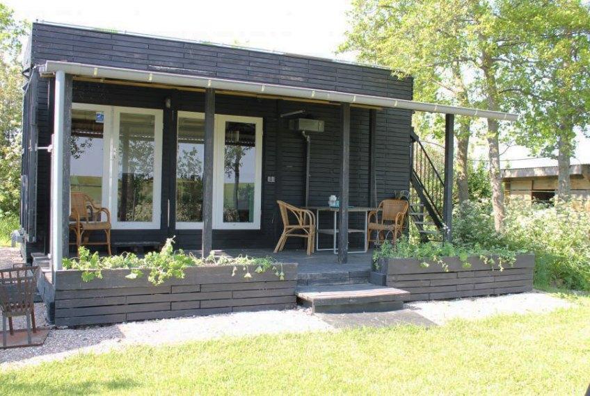 Tiny House in Oudelande/Zeeland via Natuurhuisje.nl