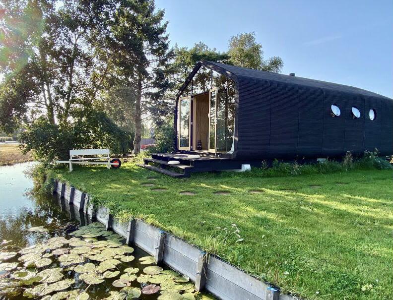 Tiny House in Noorden/Zuid-Holland via Natuurhuisje.nl
