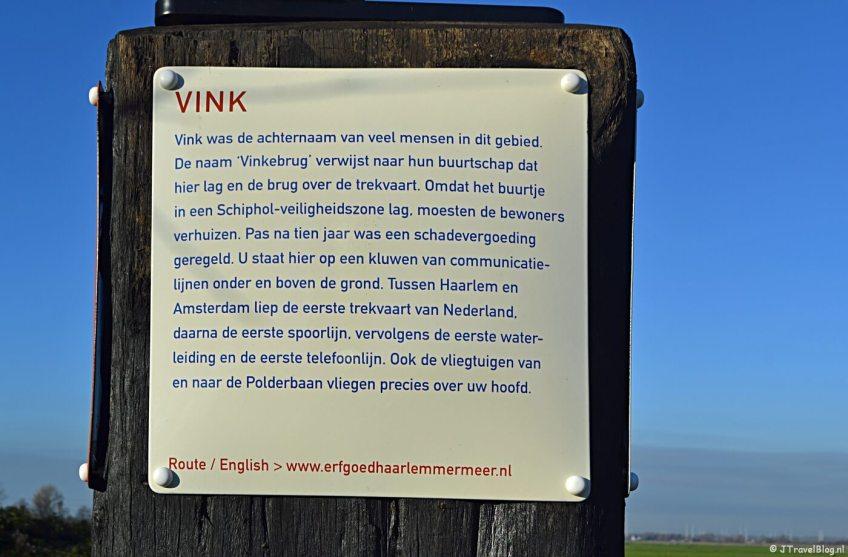 Verhalenpaal nr. 19 - VINK / Vinkebrug