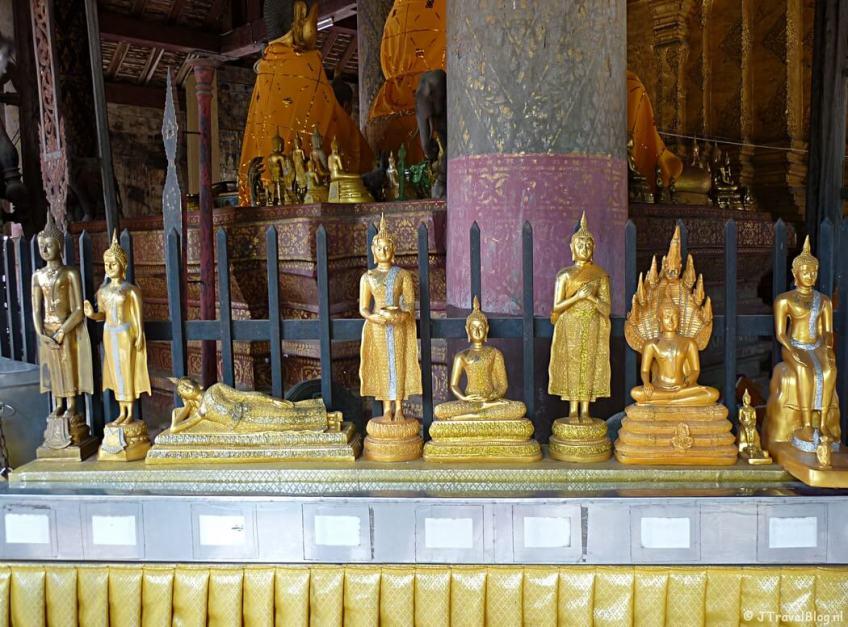 De Wat Phra That Lampang Luang in Lampang in Thailand