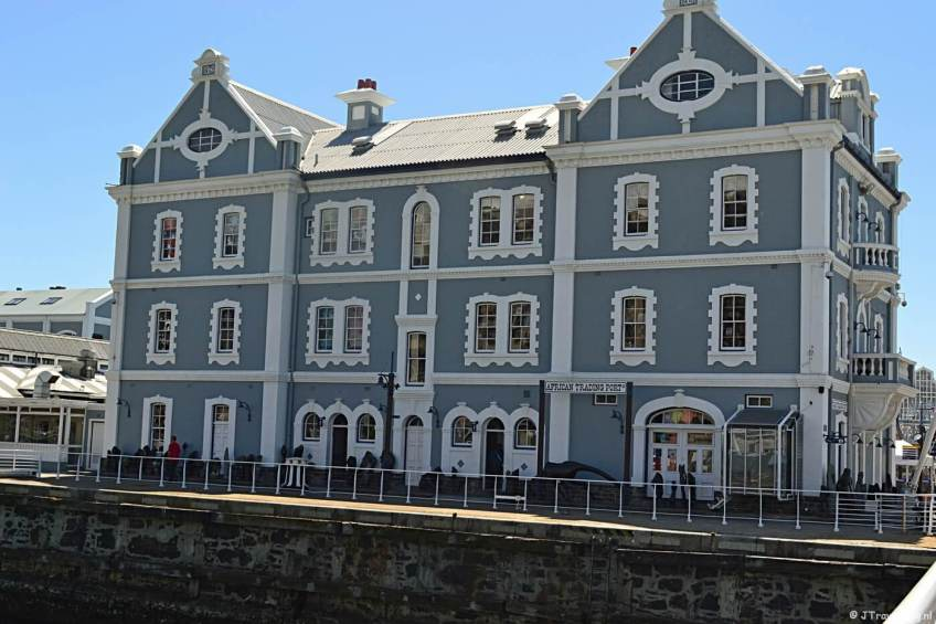 African Trading Port in Waterfront in Kaapstad