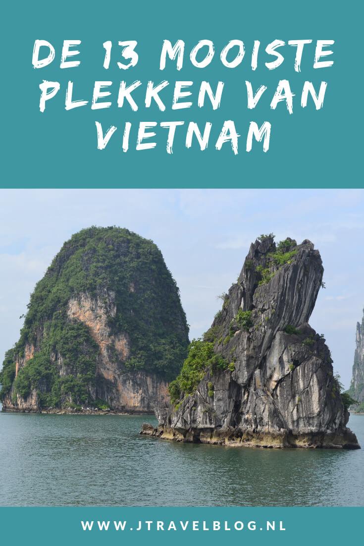 Ik heb de 13 mooiste plekken van Vietnam op een rijtje gezet. Plekken als Hanoi, Hoi An, Hué en Halong Bay staan op dit lijstje. Lees je mee? #vietnam #hoian #hochiminhcity #halongbay #hanoi #myson #hue #jtravel #jtravelblog