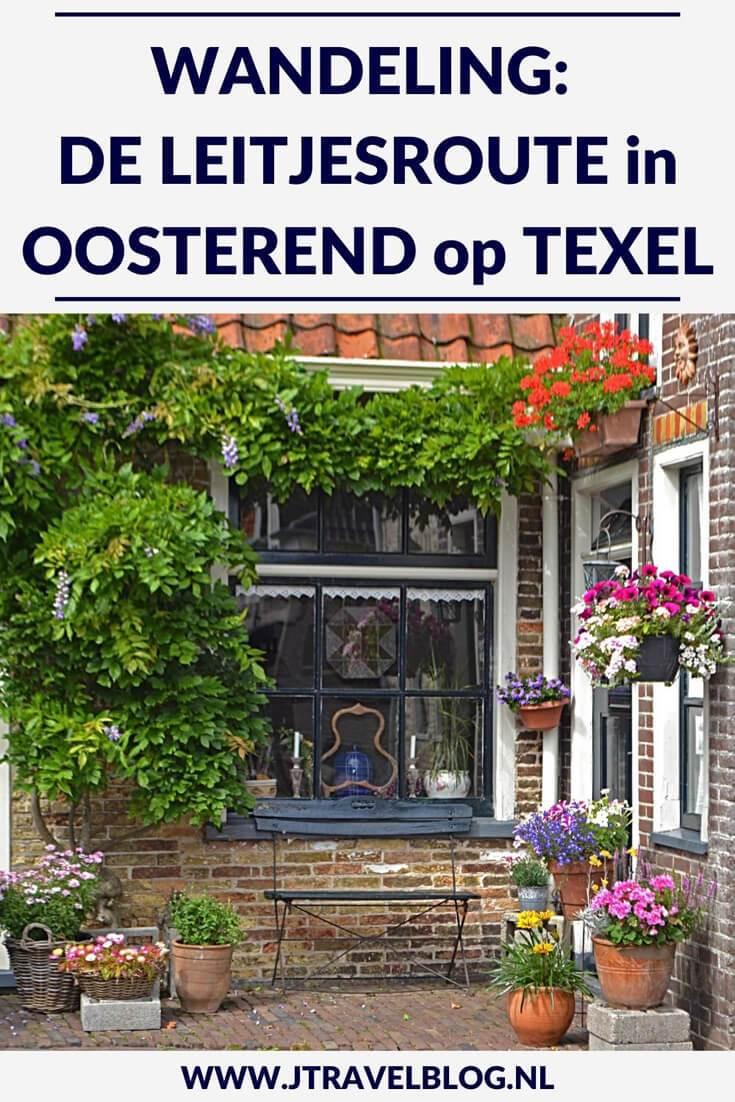 De Leitjesroute in Oosterend op Texel is een korte route van 1,65 kilometer aan de hand van genummerde leistenen bordjes. Loop je mee door Oosterend? #oosterend #texel #leitjesroute #wandelen #jtravel #jtravelblog