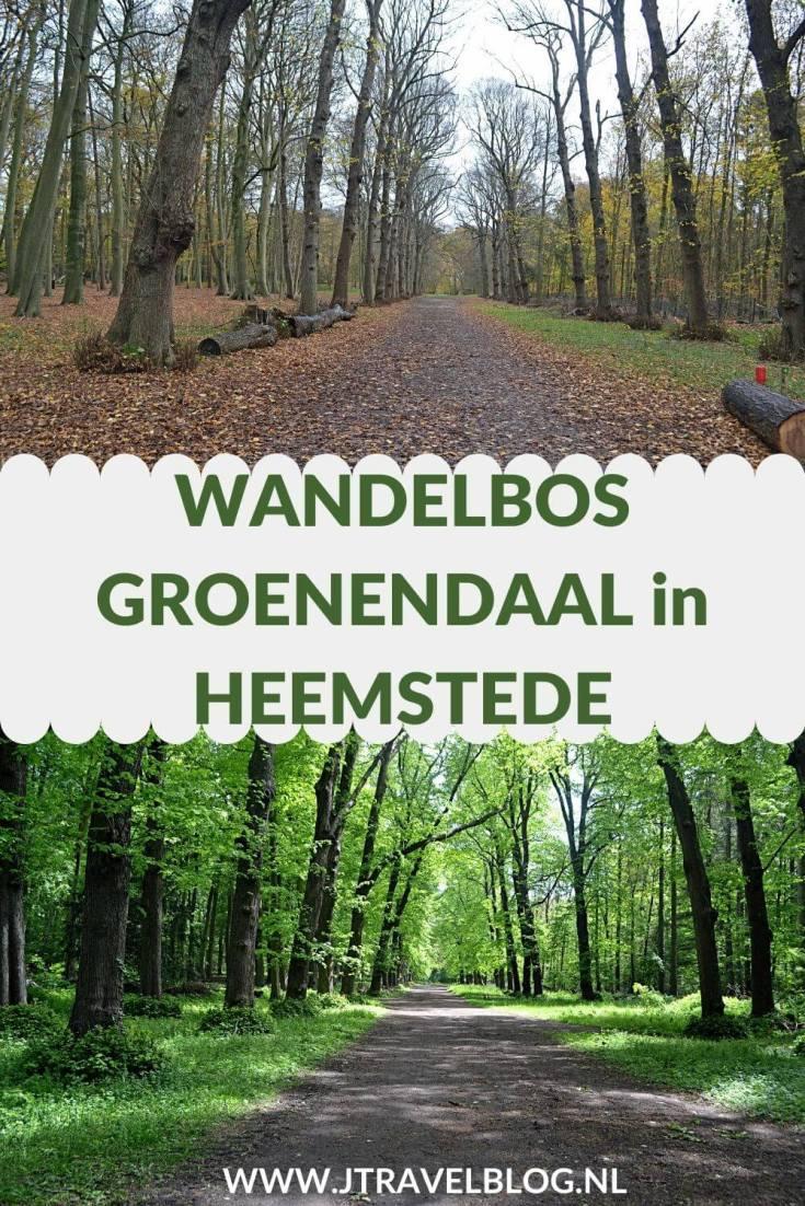 In Heemstede maakte ik zowel in de lente als in de herfst een wandeling over door Wandelbos Groenendaal. Mijn wandelroute door de bossen lees je hier. Lees en wandel je mee? #wandelbosgroenendaal #wandelen #heemstede #jtravelblog #jtravel