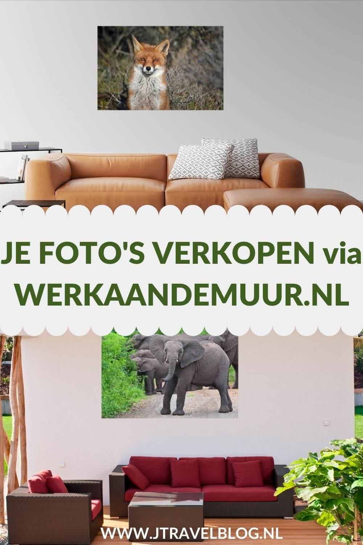 In deze blog geef ik je informatie hoe jij je foto's kunt verkopen via WerkaandeMuur.nl. Werk aan de Muur is een platform waar je hobby- en professionele fotograaf je eigen werk kunt verkopen. Hoe, lees dan verder. #fotoverkoop #werkaandemuur #werkaandemuur.nl #jtravel #jtravelblog