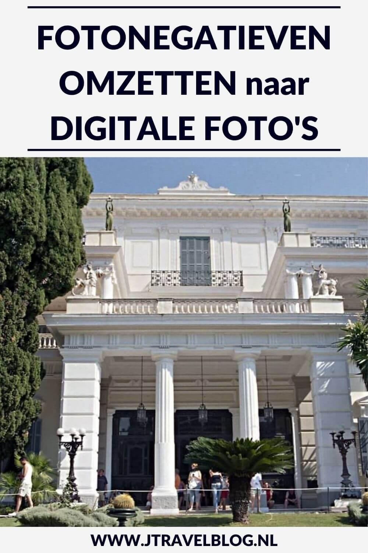 Ik ga binnenkort beginnen met het omzetten van mijn fotonegatieven naar digitale foto's. Hoe ik dat doe en wat ik daarbij nodig heb aan apparatuur, lees je in deze blog. #fotonegatieven #digitaliseren #digitalefotos #fotografie #jtravel #jtravelblog