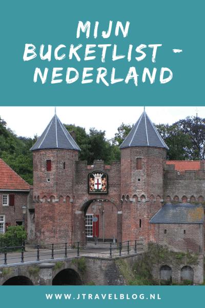 Ik heb mijn bucklist van plekken in Nederland die ik nog graag zou willen zien op een rijtje gezet. Hoe mijn bucketlijst is uit ziet, lees je in deze blog. Lees je mee? #bucketlist #nederland #jtravel #jtravelblog