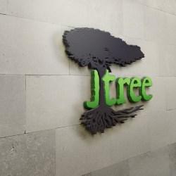 Jtree Wall Art Logo