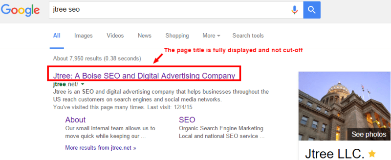 SEO Page Title